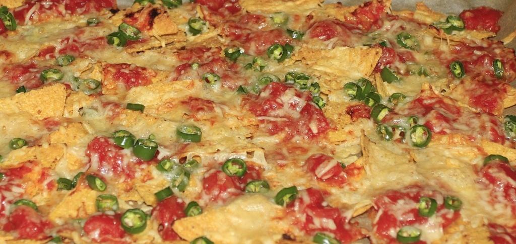 nachos na ostro