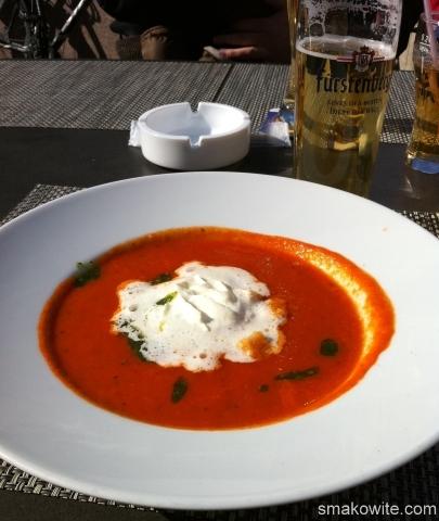 zupa pomidorowa w Konstancji