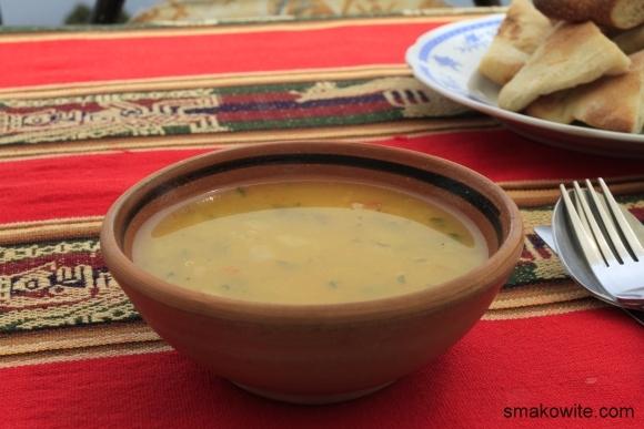 zupa z kaszą quinoa