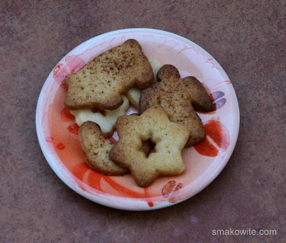 ciasteczka maślane z cynamonem a