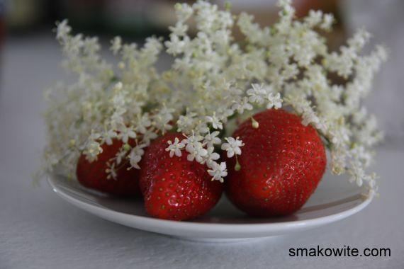konfitura z kwiatami bzu