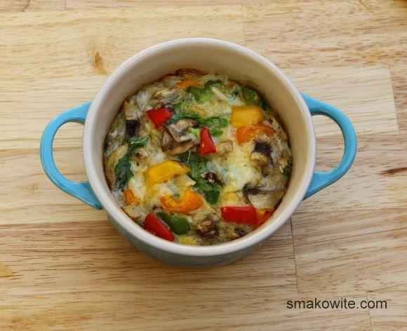 omlet w kokilkach