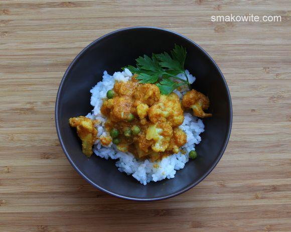 kalafir w pikantnym sosie curry