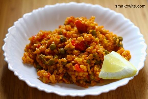 paella wegetariańska