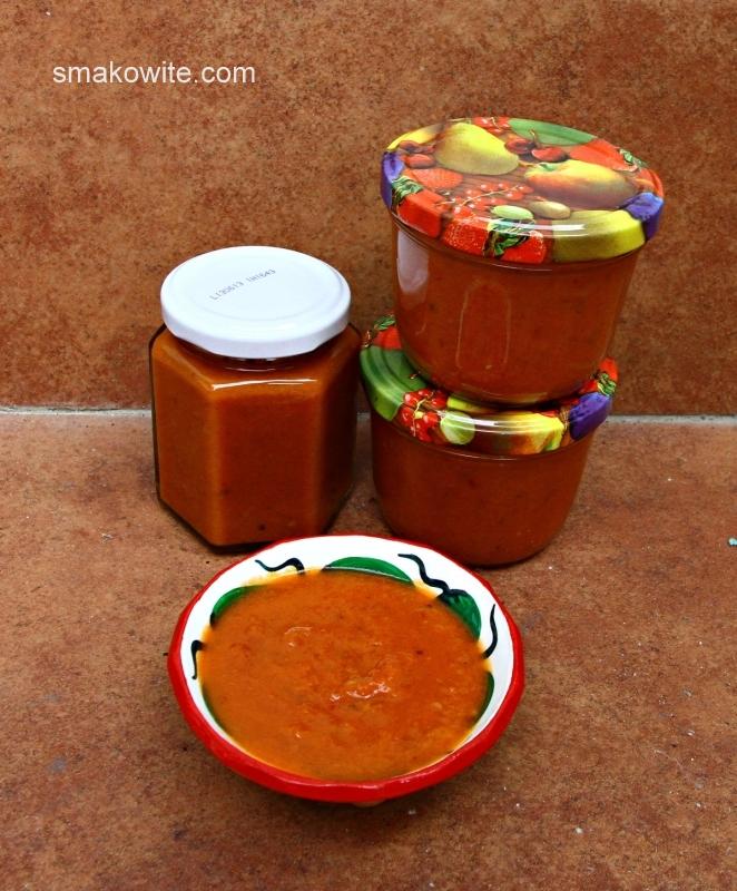 pikantna salsa z papryczkami chipotle