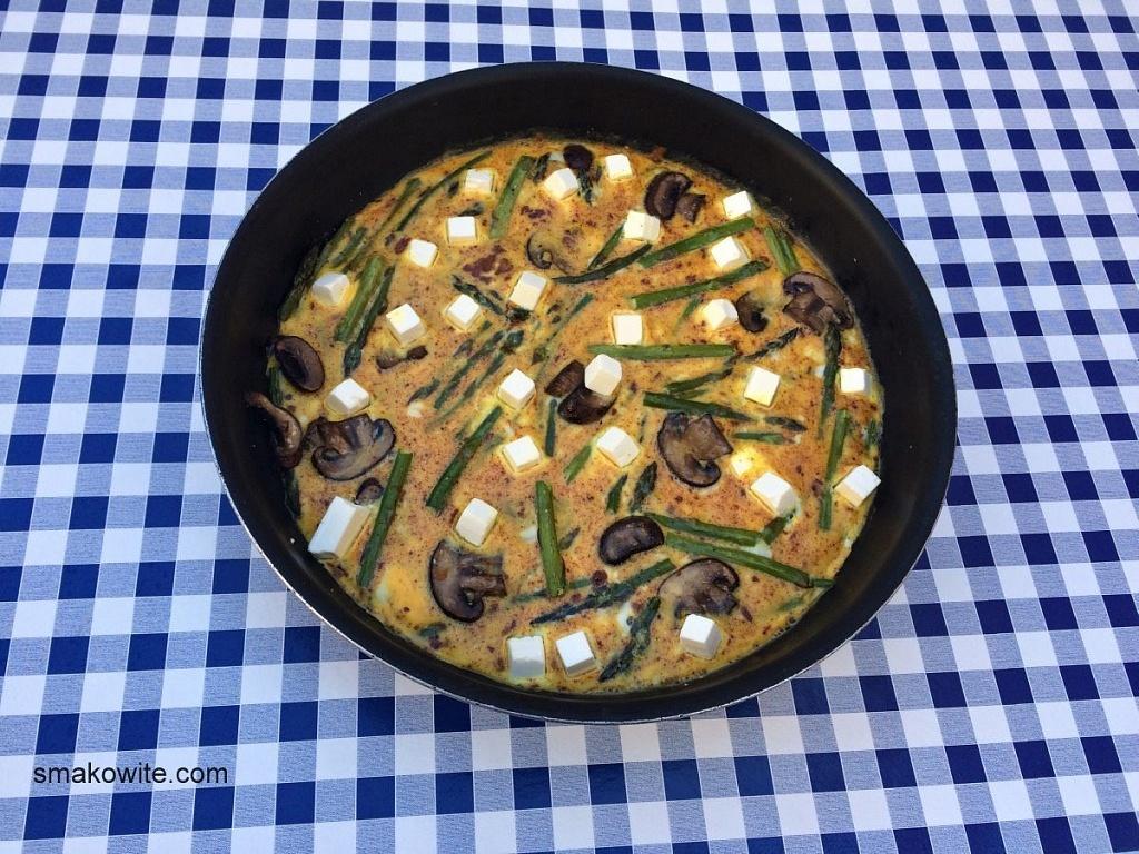 omlet z patelni